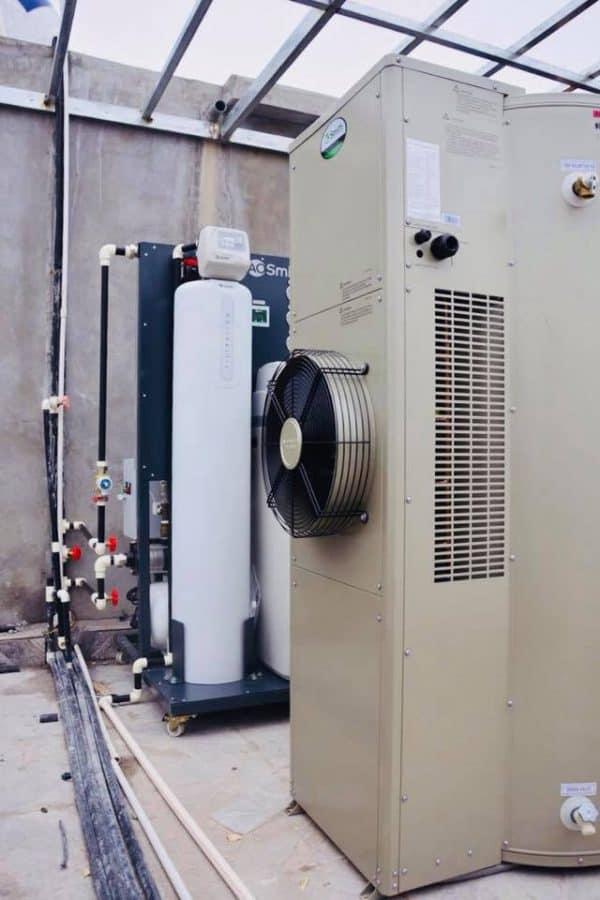 Hình ảnh thực tế Hệ thống lọc nước đầu nguồn A.O.Smith LS02