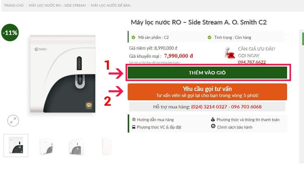 2 cách mua hàng