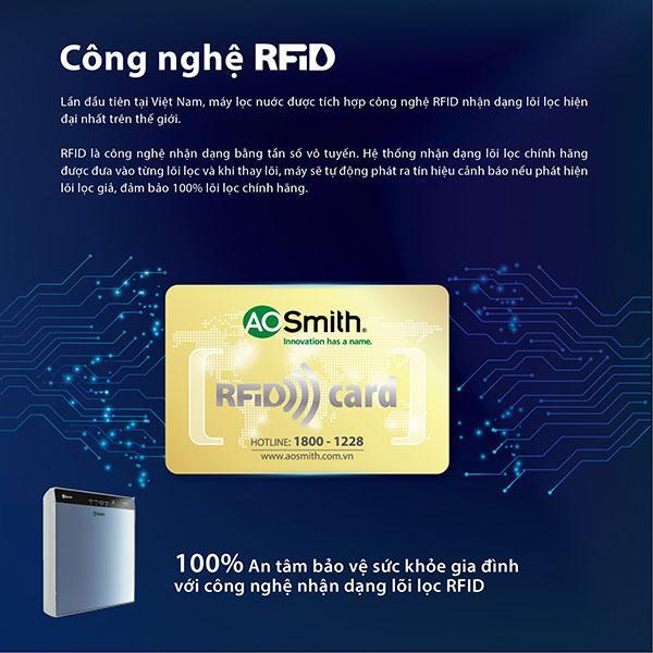 Công nghệ nhận dạng lõi lọc chính hãng RFID