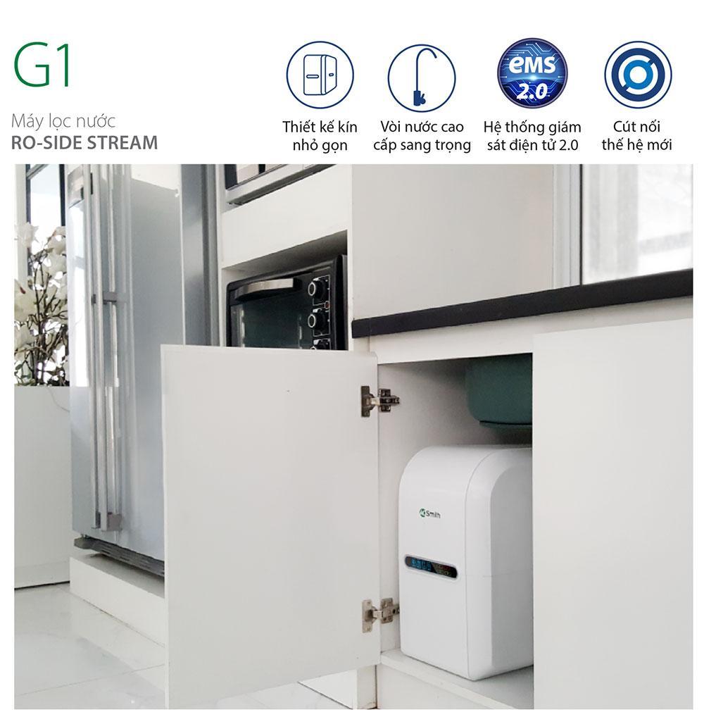 Chi tiết máy lọc nước Aosmith G1