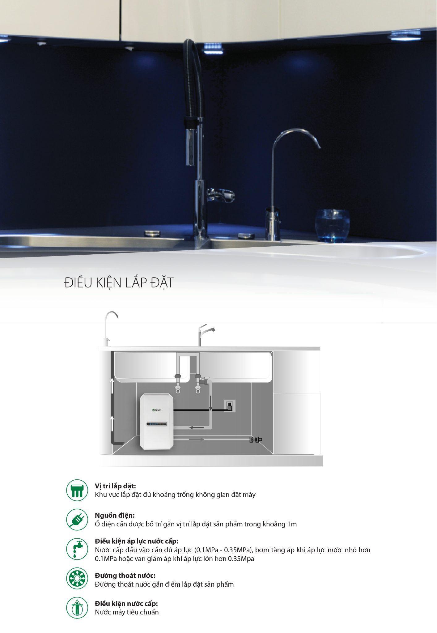 Máy lọc nước A. O. Smith G2